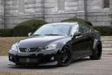 Lexus IS F Black Mamba